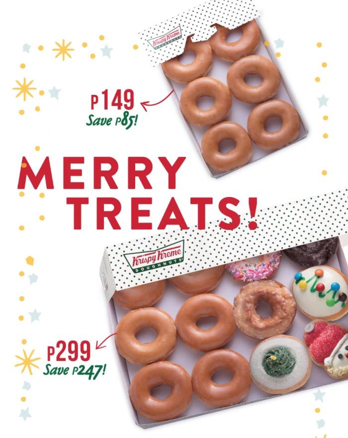 krispy Kreme Merry Treats