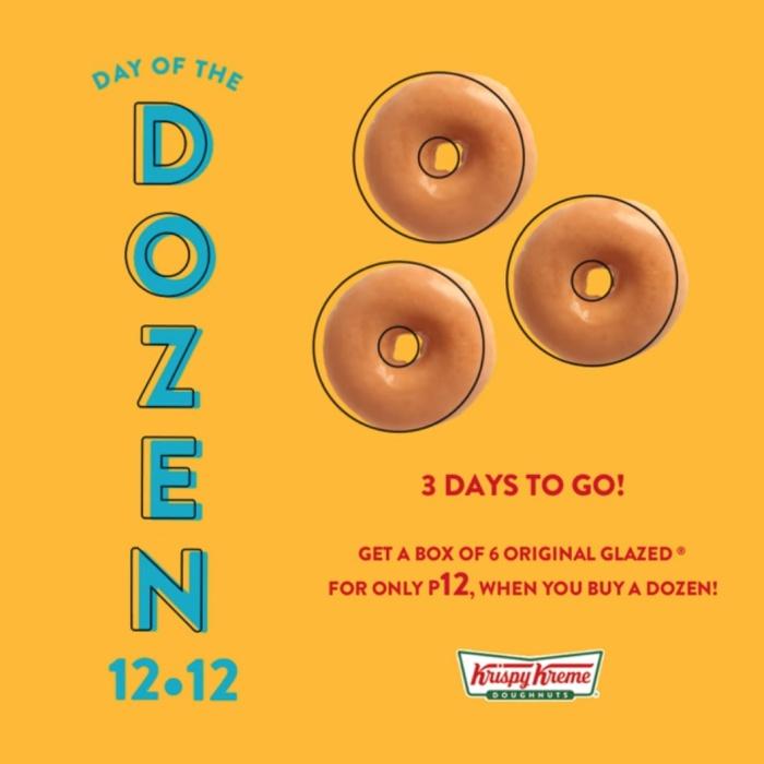 Krispy Kreme Day of the Dozen