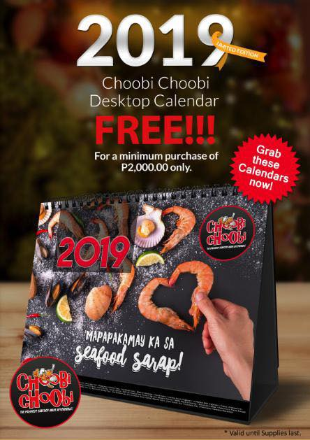 Limited Edition Choobi Choobi Calendar