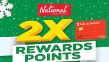 National Book Store 2X Rewards Points FI