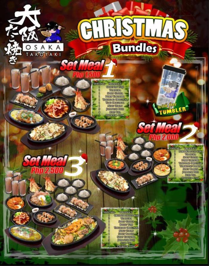 osaka takoyaki Christmas Bundle portrait