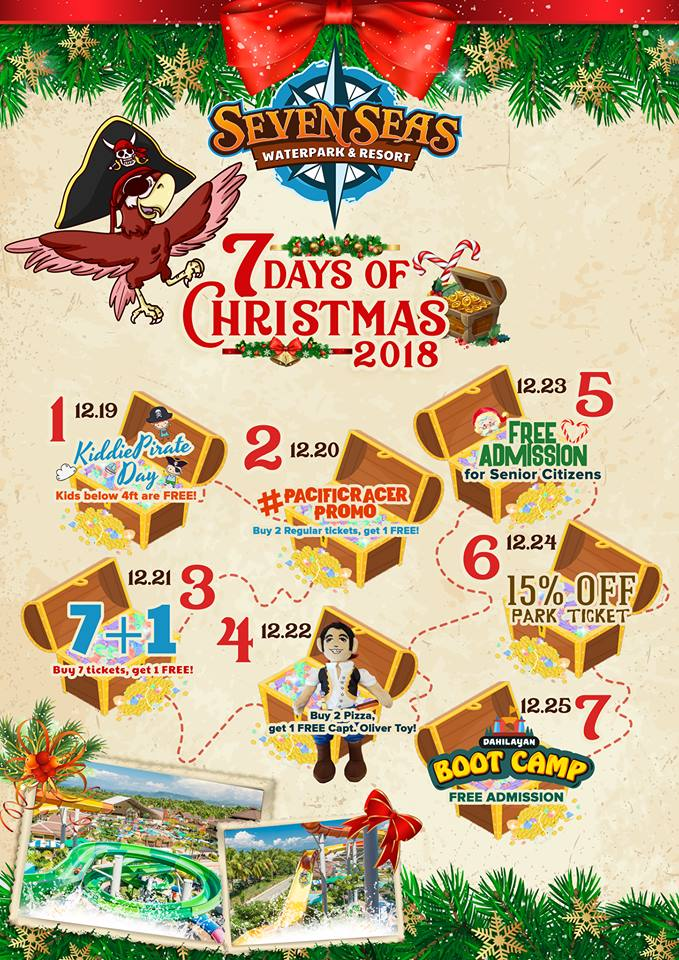 Seven Seas 7 days of Christmas complete