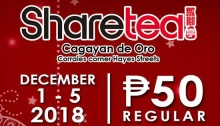 Sharetea CDO Christmas Season Promo FI2