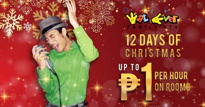 Wat Ever Family KTV 12 days of Christmas Promo