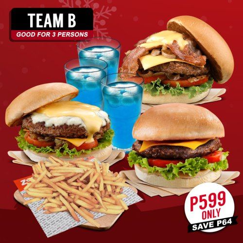 Zark's Burgers Holideals teamB