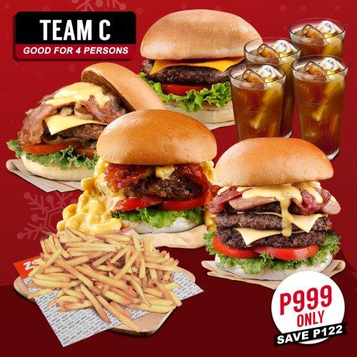 Zark's Burgers Holideals teamC