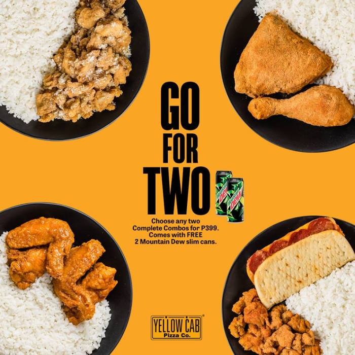 Yellow Cab Go For 2