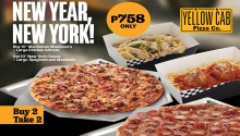 Yellow Cab New Year New York Buy 2 Take 2 FI