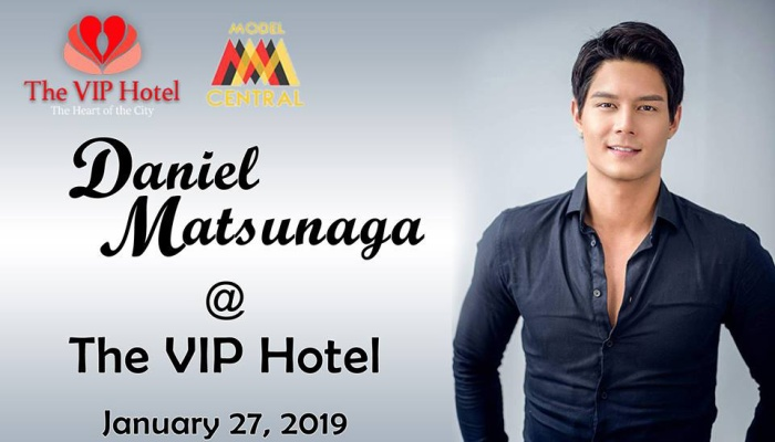 A chance to meet daniel matsunaga FI