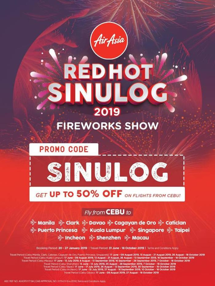 AirAsia red hot sinulog