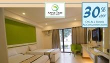 apple tree resort and hotel 30percent off fi