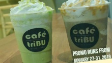 Cafétribu cdo buy 1 take 1 freeze blended and tea cooler products FI
