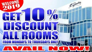 Casa Crystalla 10% discount FI