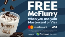 cashless mcflurry promo fi