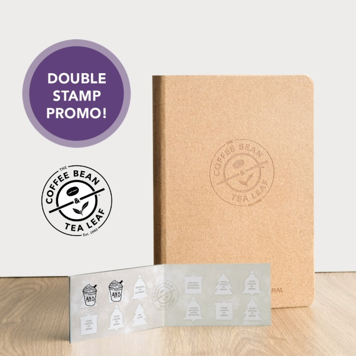 CBTL double stamp promo with logo