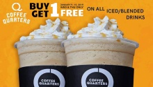 coffee quarters buy 1 get 1 fi