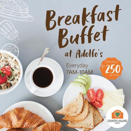 Country Village Hotel breakfast buffet