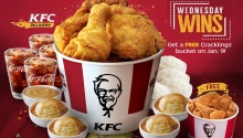 free cracklings bucket wednesday wins at kfc fi