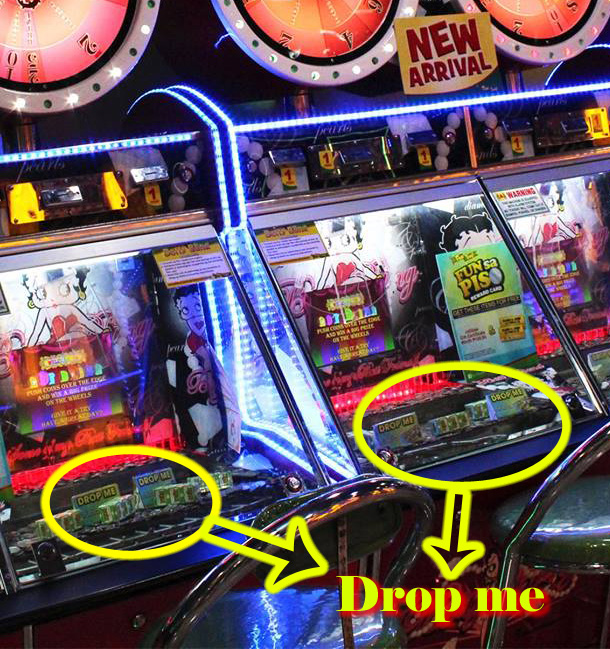 fun time piso machine drop me