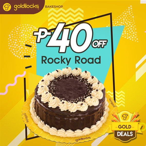goldilocks gold deals rocky road