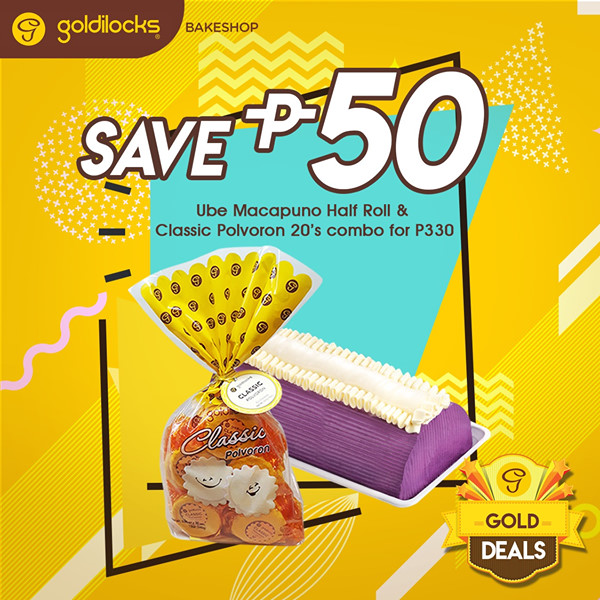 goldilocks gold deals save p50
