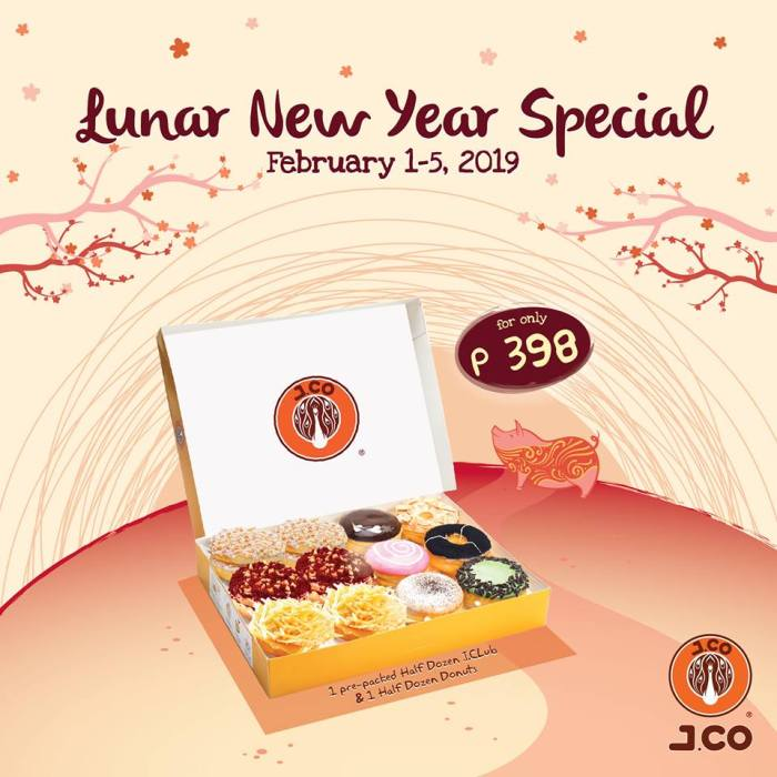 J.Co lunar new year special