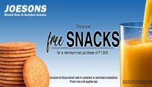 joesons autoparts bulua free snacks fi