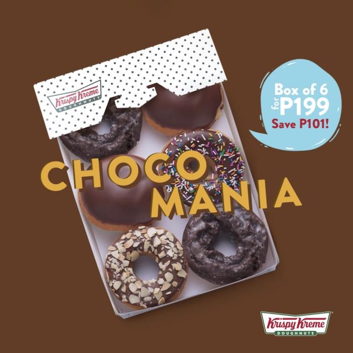 Krispy Kreme Choco Mania