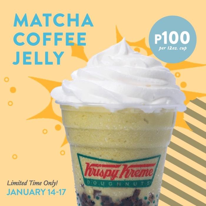 krispy kreme matcha coffee jelly