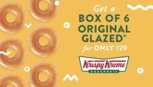 Krispy kreme original treat p129 no date FI