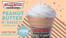 Krispy Kreme peanut butter with reeses coffee jelly promo fi