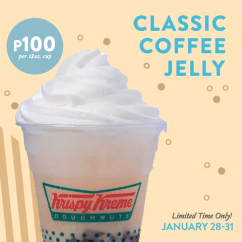 Krispy Kreme Classic Coffee Jelly Treat