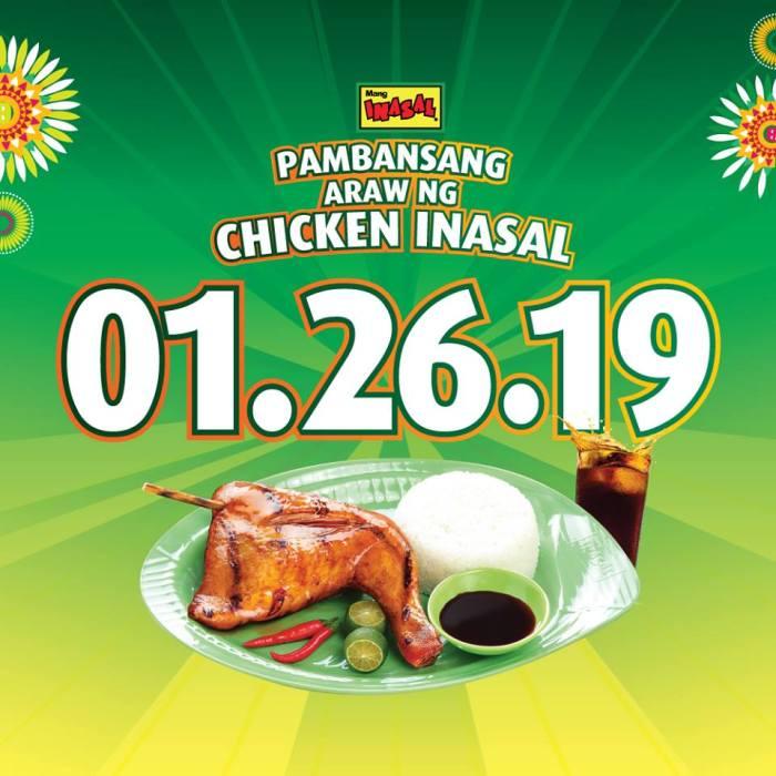 Mang Inasal Chicken Inasal Day