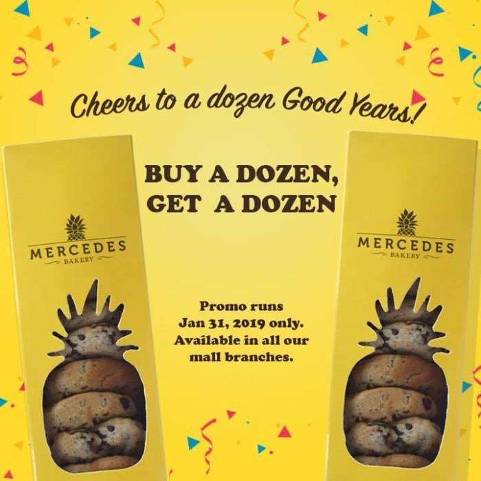Mercedes Bakery 12th anniversary promo