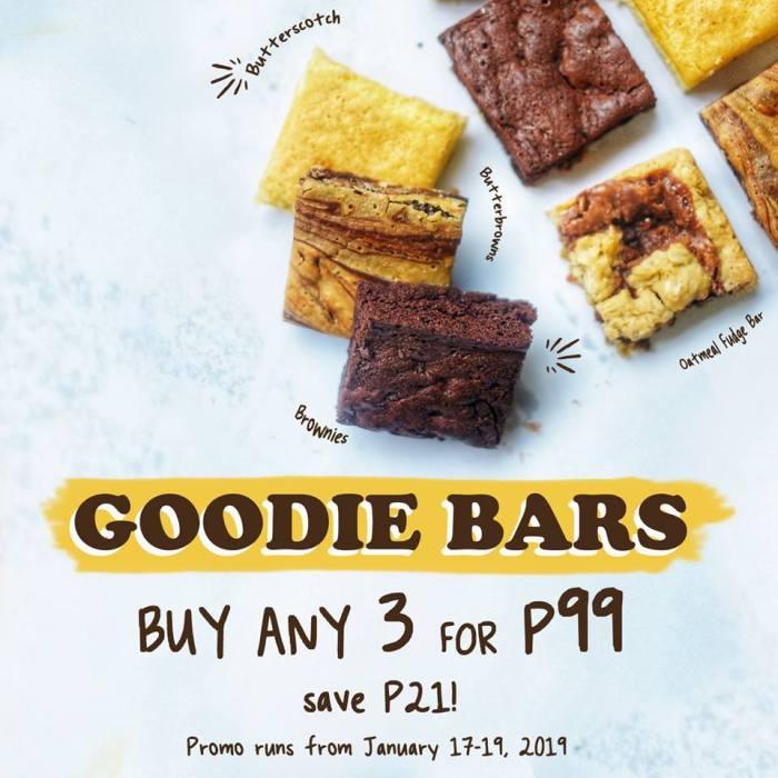 Mercedes Bakery 3 for P99 Goodie Bars