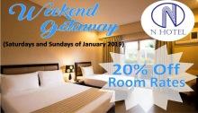 N Hotel weekend getaway FI