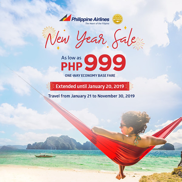 Philippine Airlines New Year Sale ext sq