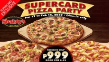 Shakey's Supercard Pizza Party FI