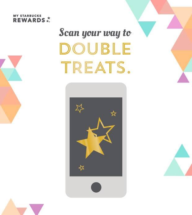 starbucks mobile app exclusive teavana double star treat
