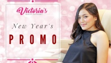 Victoria Beauty Alphabet's new year's promo fi