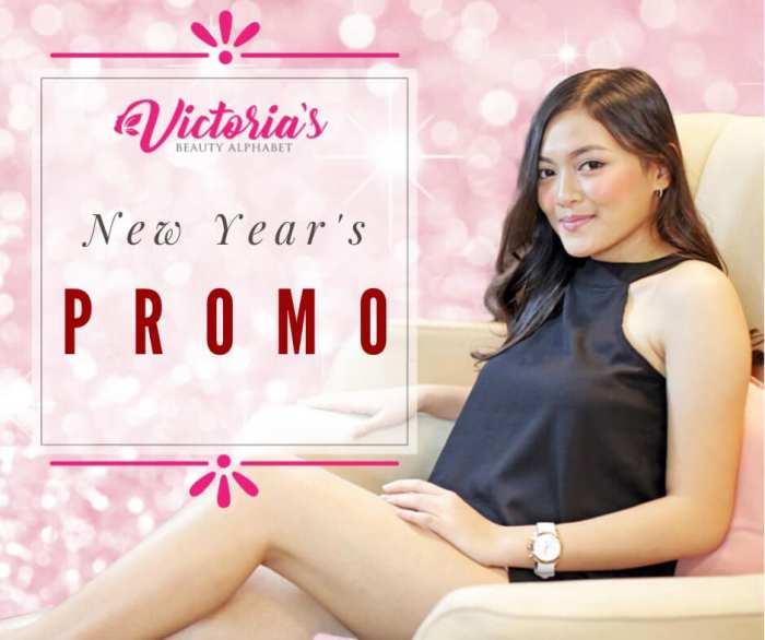 Victoria Beauty Alphabet new year's promo