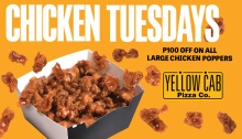 yellow cab chicken tuesdays fi