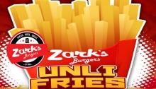 Zark's Burgers unli fries FI
