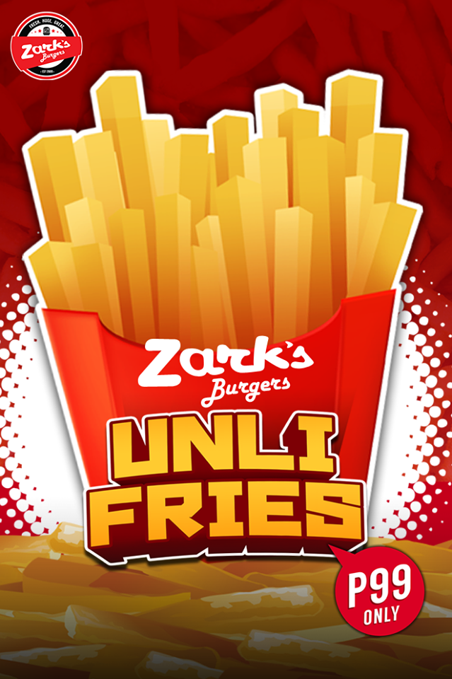 Zark's Burgers Unli Fries