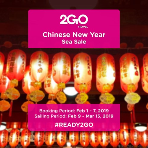 2Go Chinese New Year Sea Sale