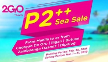 2go P2 plus sea sale FI
