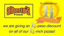 Alberto's Pizza CDO 11th Anniversary FI detailed