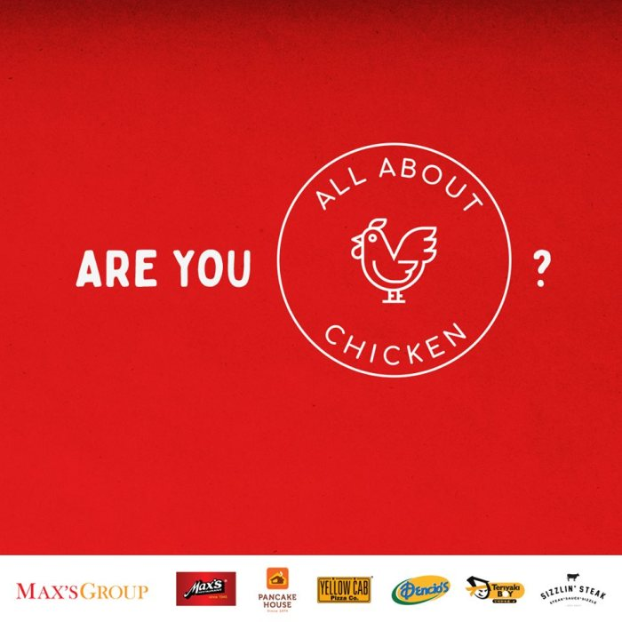 Max's Group Inc. all about chicken all