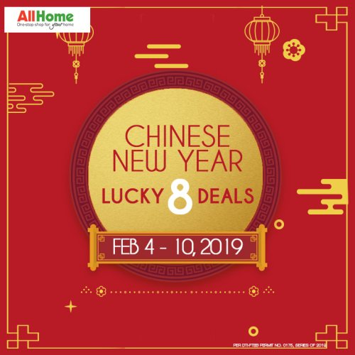 All Home Chinese New Year Lucky 8 Deals