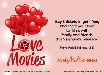Ayala Malls Cinemas Love Movies